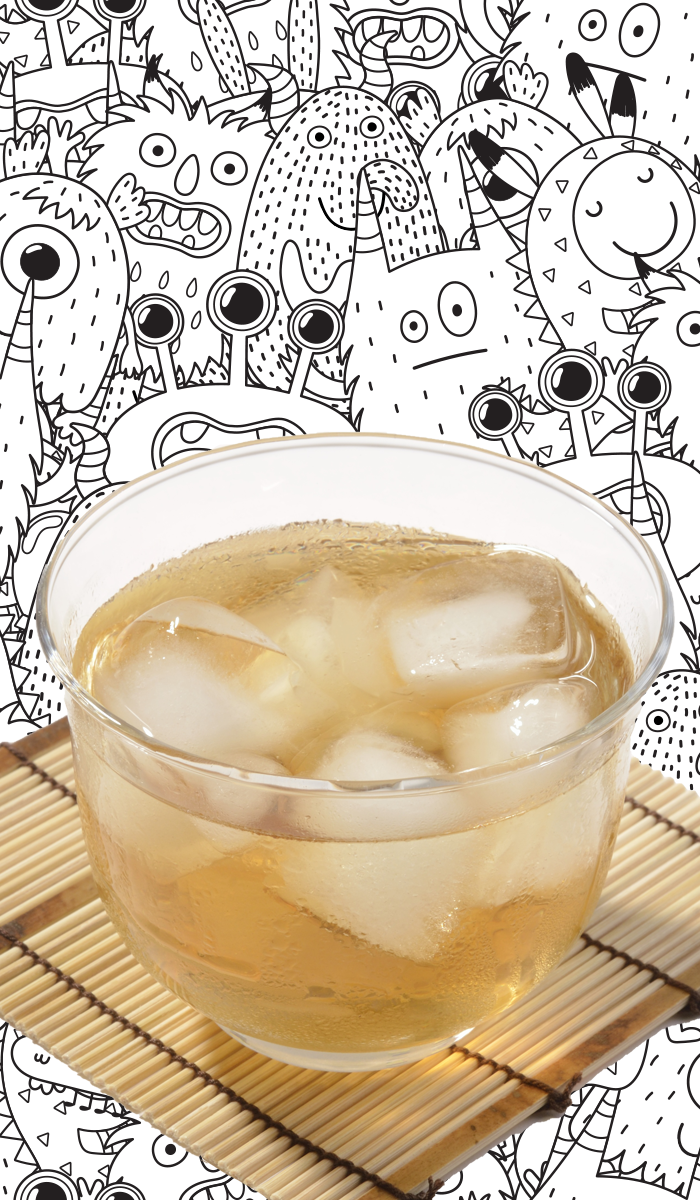 mugicha - 妖怪「お茶湧かし」