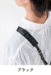 black Kata pad 205x300 - 肩パット(お財布ショルダーマホン専用)