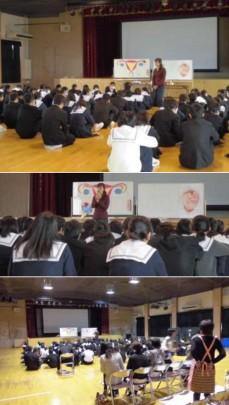 hannan cyu 229x405 - 受験直前!中学3年生「いのちの授業」