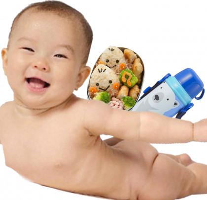 bentou suitou baby 420x405 - 赤ちゃんはお弁当と水筒を持って生まれてくる