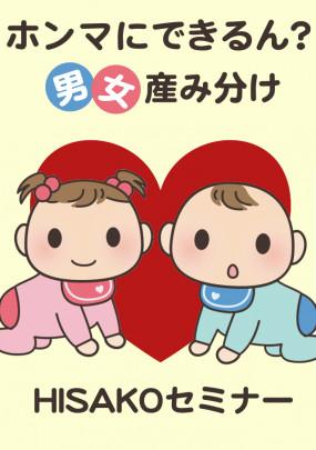 dan jyo umiwake 1 285x405 - 11月HISAKOセミナー『男女産み分け』ご案内