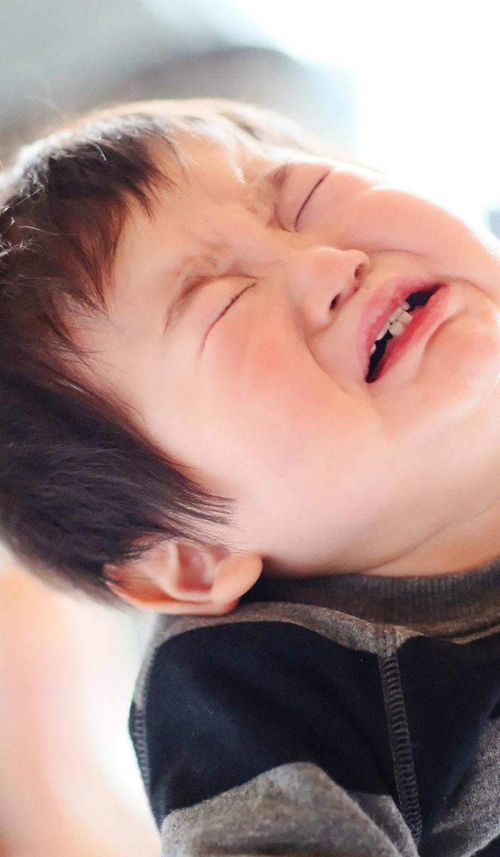 gyan - ママの抱っこで赤ちゃんギャン泣き!