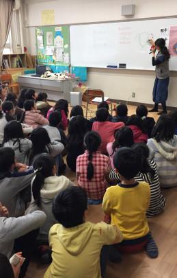 syougakko 259x405 - 『いのちの授業』茨木市立中津小学校  2年生&4年生