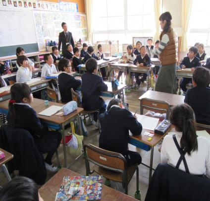 yokoyama inochi jyugyou 424x405 - いのちの授業 和泉市立横山小学校 2年生