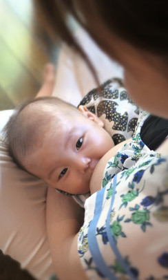 jyunyu 244x405 - 母乳栄養は最初からうまくいきません