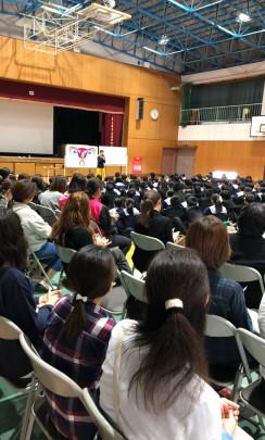 tamagawa top 244x405 - 中学生に届け!〜玉川中学校3年いのちの授業〜