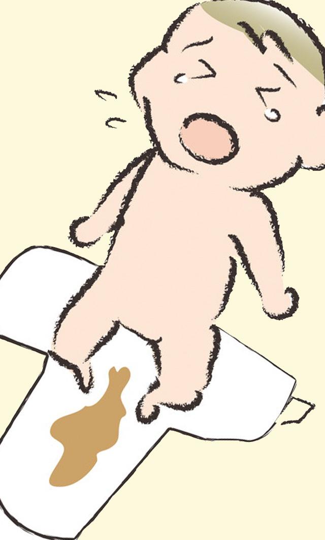 geri 1 - 2ヶ月赤ちゃん 下痢が続くのは飲ませすぎ?