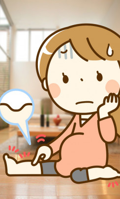 mukumi 244x405 - 妊婦の「むくみ」
