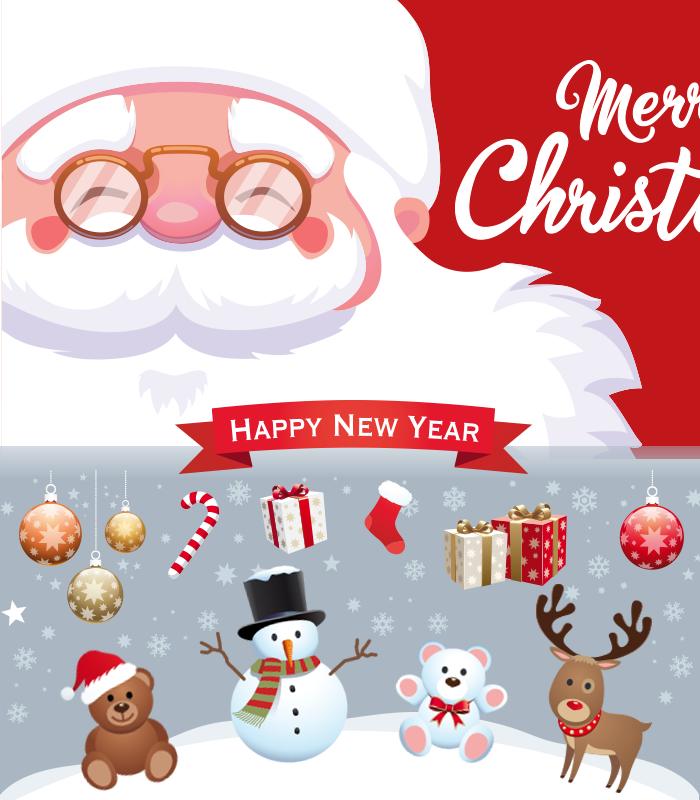 merry Christmas - サンタクロースがやってくる