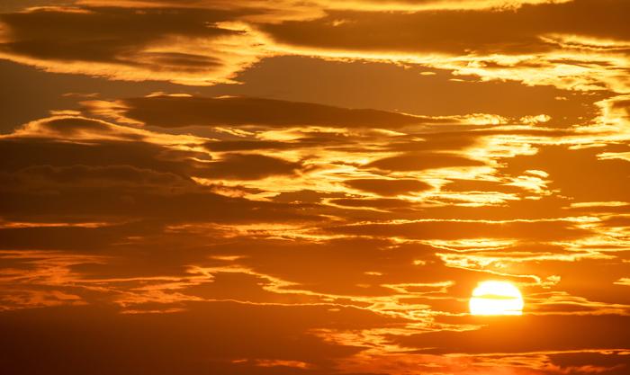 10 07 sunset - (11)助産院ばぶばぶ 移転します!(MARK)