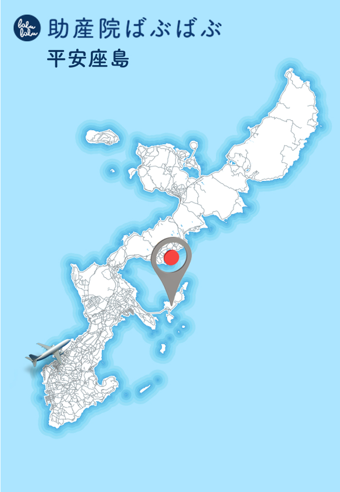 babubabu in henza map - (2)助産院ばぶばぶ 移転します!