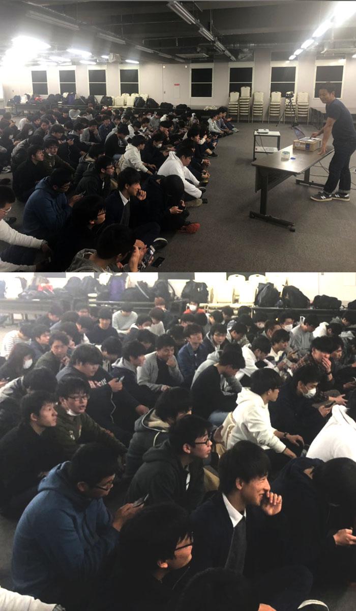 daigaku 1 - 大学で講義してきました!