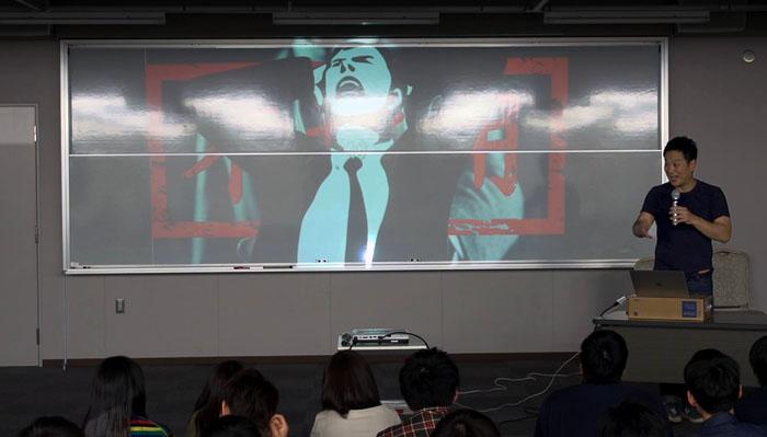 daigaku 02 - 大阪産業大学1回生110名 MARK & HISAKOセミナーを受講した感想