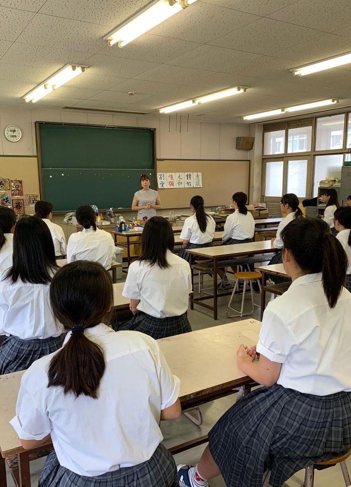 KOUGI - 助産師になりたかった理由(高校生向け看護講話)