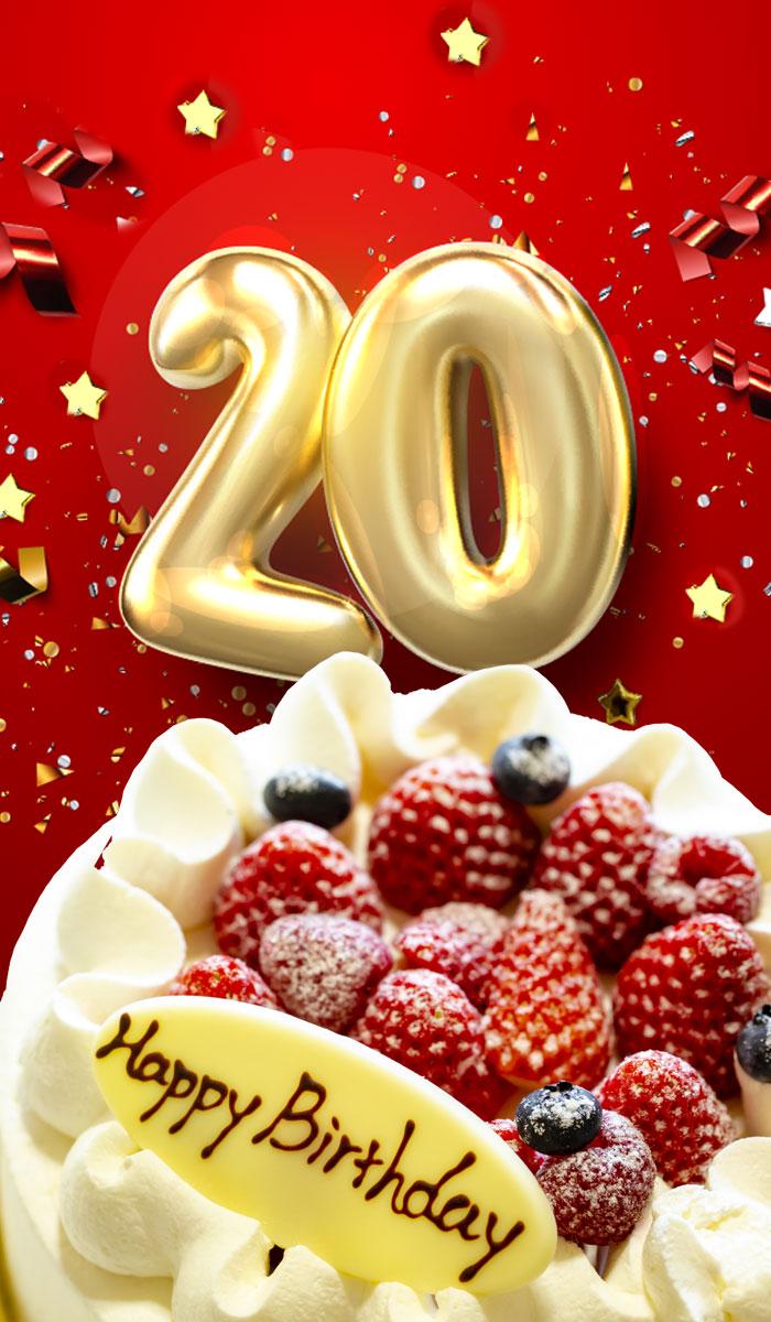 20 1 - 20歳の誕生日