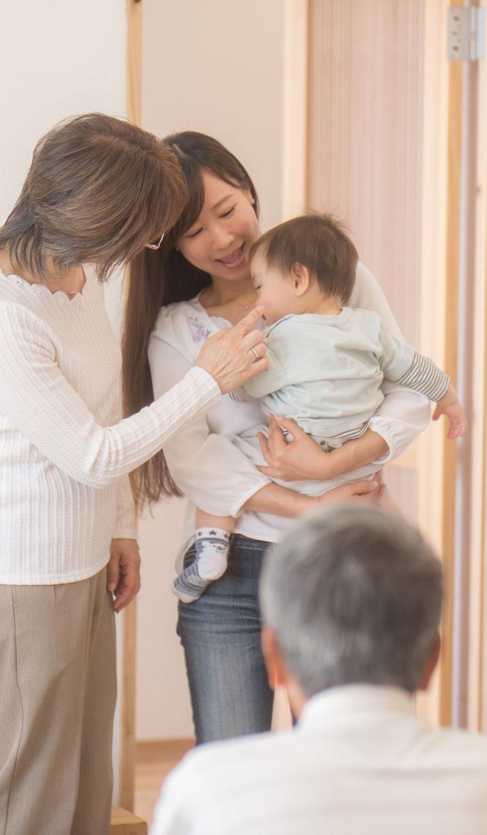 kisei - 帰省時の『よそ行き赤ちゃん』にご用心を!