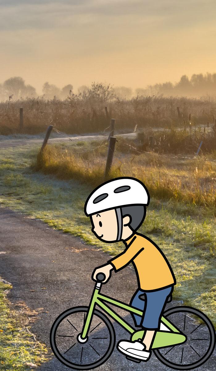 Fuu 1 - 自転車徘徊は本人の意思でした(小1ふうた)