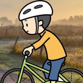 自転車徘徊は本人の意思でした(小1ふうた)