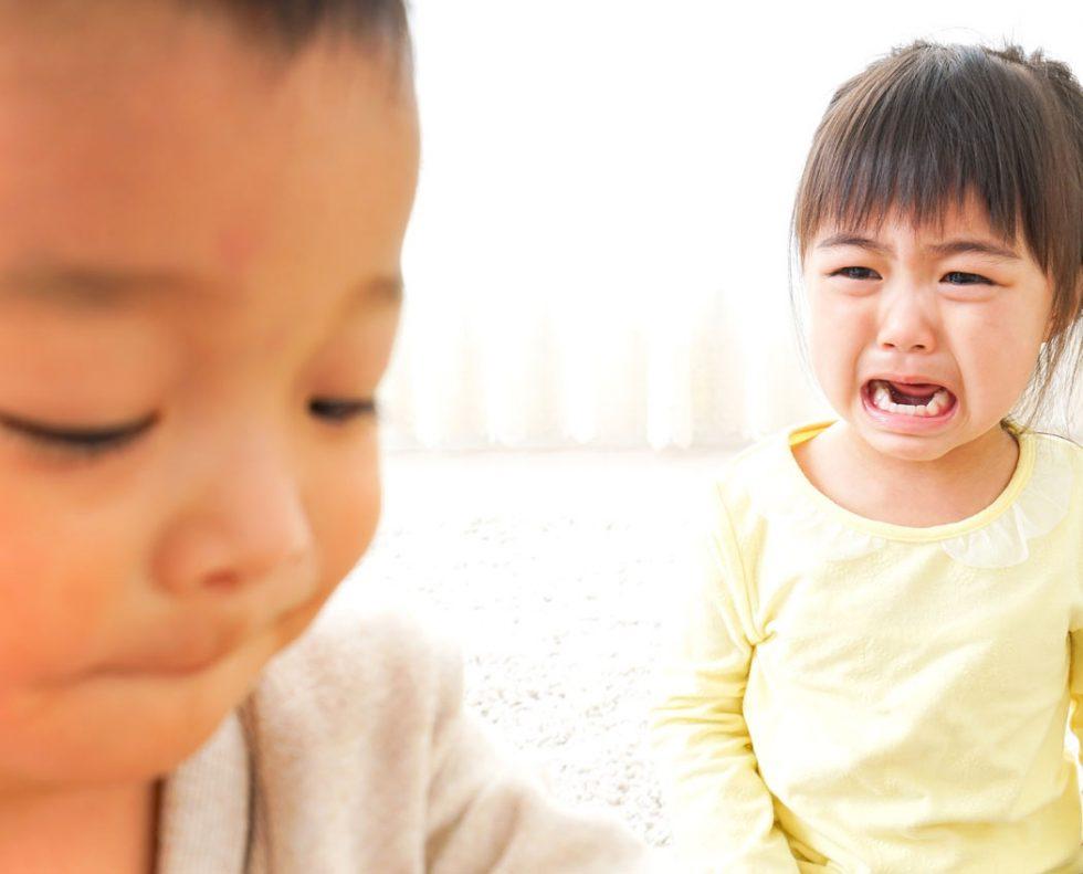 3 1 - お友達のおもちゃを奪う3歳児