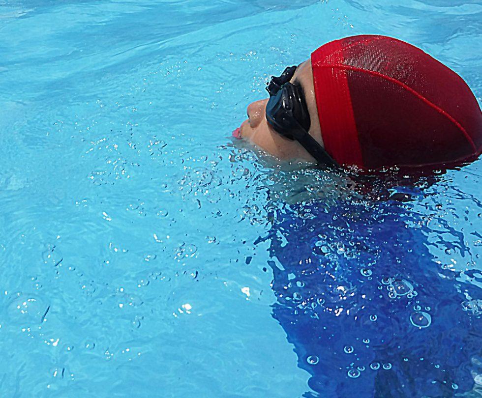 S - 10月だけどプール授業続いてます!